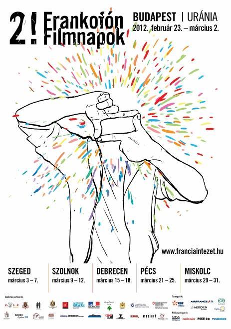 frankofón filmnapok plakát