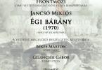 MEGHÍVÓ_Frontmozi_Égi bárány_2017.10.11.