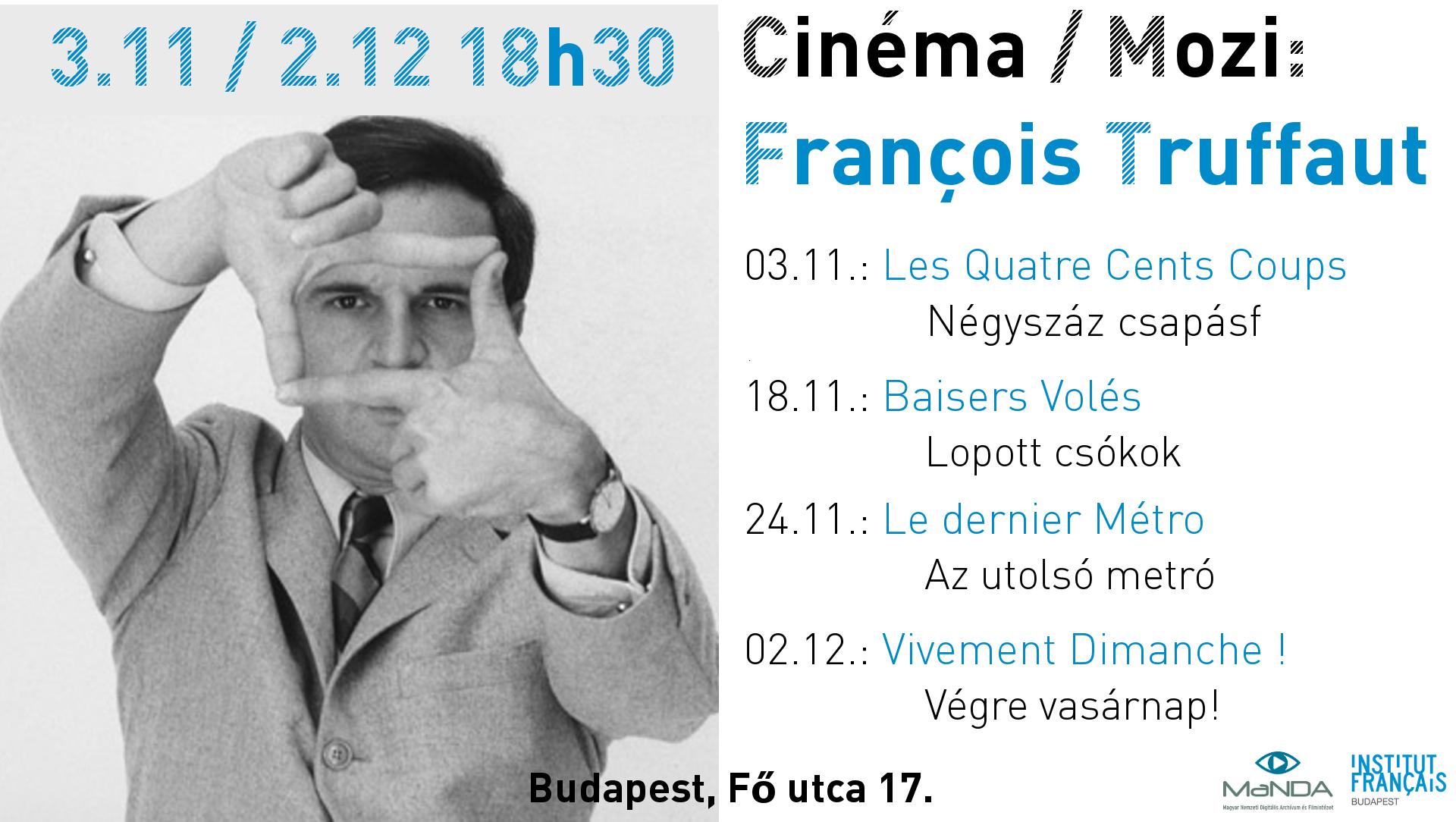 Truffaut Affiche